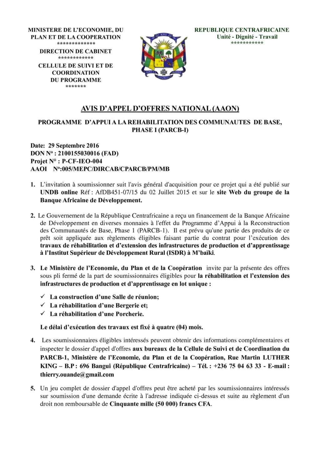 Plan D Une Case Africaine projects – page 3 – afcham | the african chamber of commerce